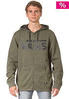 VANS Classic Zip Hooded Sweat burma green/new