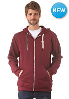 VANS Core Basics Hooded Zip Sweat wine