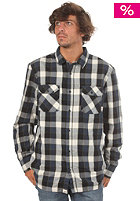 VANS Earnest  L/S Woven Shirt deep black/midnight