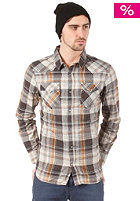 VANS Edgeware L/S T-Shirt vintage white plaid