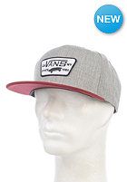 VANS Full Patch Snapback Cap heather grey/wi
