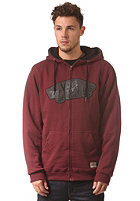VANS Hessel Hooded Zip Sweat wine