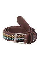 VANS Inlay Leather Belt brown