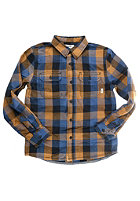VANS Kids Alameda L/S Shirt ensign blue/rub