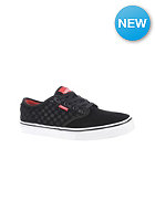 Kids Atwood (suede checkers) black