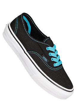 VANS KIDS/ Authentic black/peacock blue