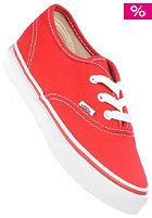 VANS Kids Authentic red