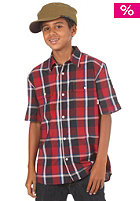 VANS KIDS/ Boys Averill S/S Shirt red