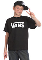VANS KIDS/ Boys Classic S/S T-Shirt black/white