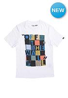VANS Kids Checker Blaster II S/S T-Shirt white/celestial