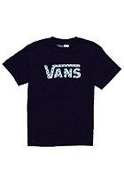 VANS Kids Checker Classic S/S T-Shirt black/cyan