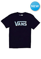 VANS Kids Checker Classic S/S T-Shirt black/cyan