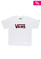 VANS Kids Checker Classic S/S T-Shirt white/black/red