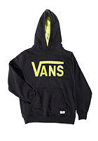 VANS Kids Classic Hooded Sweat black/chartreus