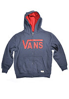 VANS Kids Classic Hooded Zip Sweat navy/chili pepp