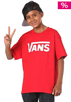 Kids Classic S/S T-Shirt red/white