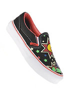 VANS Kids Classic Slip On (phineas ferb) black/true white