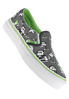 VANS Kids Classic Slip On (phineas ferb) pewter/true white