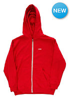 VANS Kids Core Basic Hooded Zip Sweat chili pepper