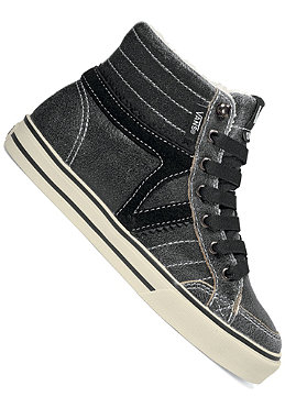 VANS KIDS/ Girls Corrie Hi leather black