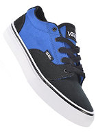 VANS Kids Kress 2 tone canvas black/blue