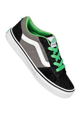 VANS KIDS/ La Cripta Dos black/pewter/green
