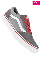 VANS Kids Milton suede canvas pewter/wild dove