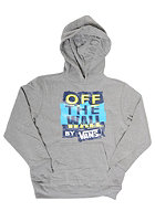 VANS Kids Patch Work Hooded Sweat concrete heathe