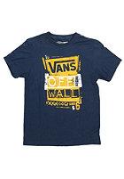 VANS Kids Stenciled S/S T-Shirt navy