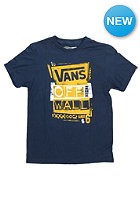 VANS Kids Stenciled S/S T-Shirt navy