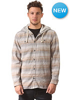 VANS Lopes Hooded L/S Shirt gravel stripe