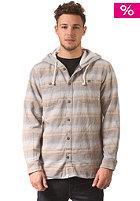 VANS Lopes Hooded L/S Shirt gravel stripe