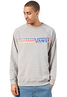 VANS Native Check Crew L/S T-Shirt concrete heather