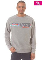 VANS Native Check Crew Sweat concrete heathe