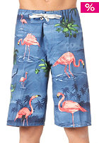 VANS Off The Wall Boardshort blue flamingo