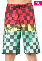 VANS Off The Wall Boardshort rasta scan check