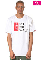 VANS Off The Wall S/S T-Shirt white