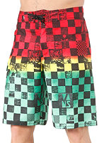 VANS Off The Wall Short rasta scan check