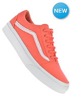 VANS Old Skool hot coral/true white