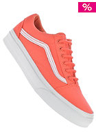 Old Skool hot coral/true white