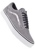 VANS Old Skool snake frost grey