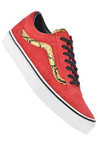 VANS Old Skool snake red/gold