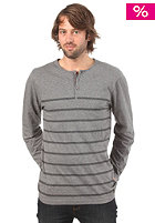 VANS Oldfield Henley Knit Sweat gravel heather