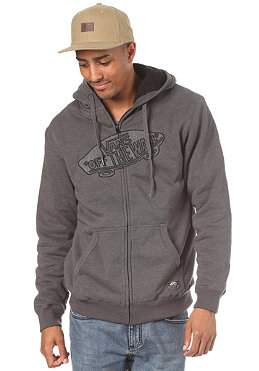 VANS OTW Applique Sherp Hooded Zip Sweat new charcoal heather