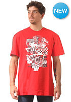 VANS Otw Checker Blaste S/S T-Shirt red/white