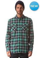VANS Payne L/S Shirt navy/apple gree