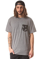 VANS Peace Leaf Pocket S/S T-Shirt heather grey
