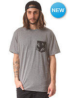 VANS Peace Leaf Pocket S/S T-Shirt heather grey