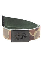 VANS Reverse Web Belt camo/jungle green