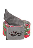 VANS Reverse Web Belt red hawaiian